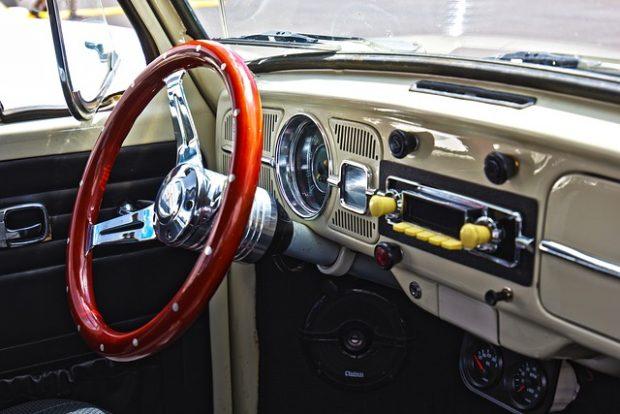 Auto radio stéréo vintage